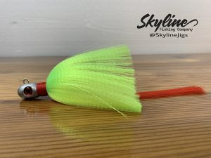 Skyline Bullet Flare Hawk Snook Jig