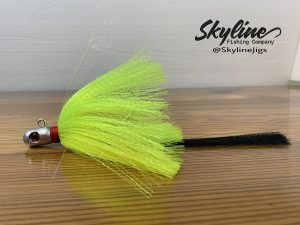 Skyline Shotgun Shell Flare Hawk Snook Jig