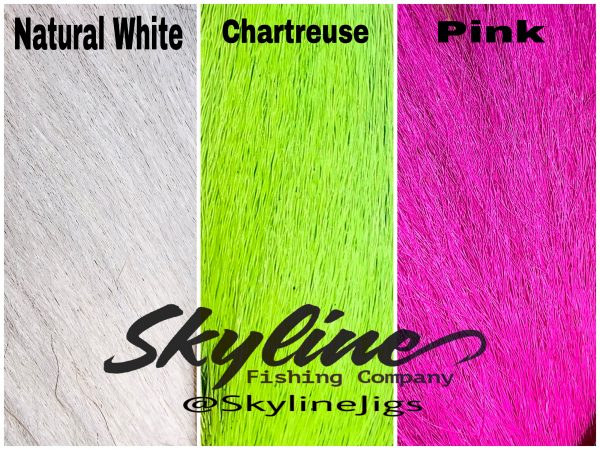 Bucktail Hair Color Chart