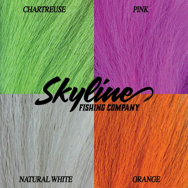 Bucktail Cobia Jigs Color Chart