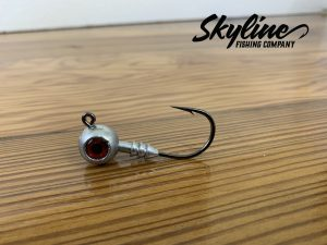 Skyline Ball Head with Ribs Jig Heads