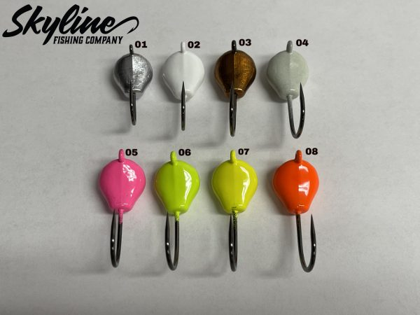 Skyline no Collar Spakie Color Chart
